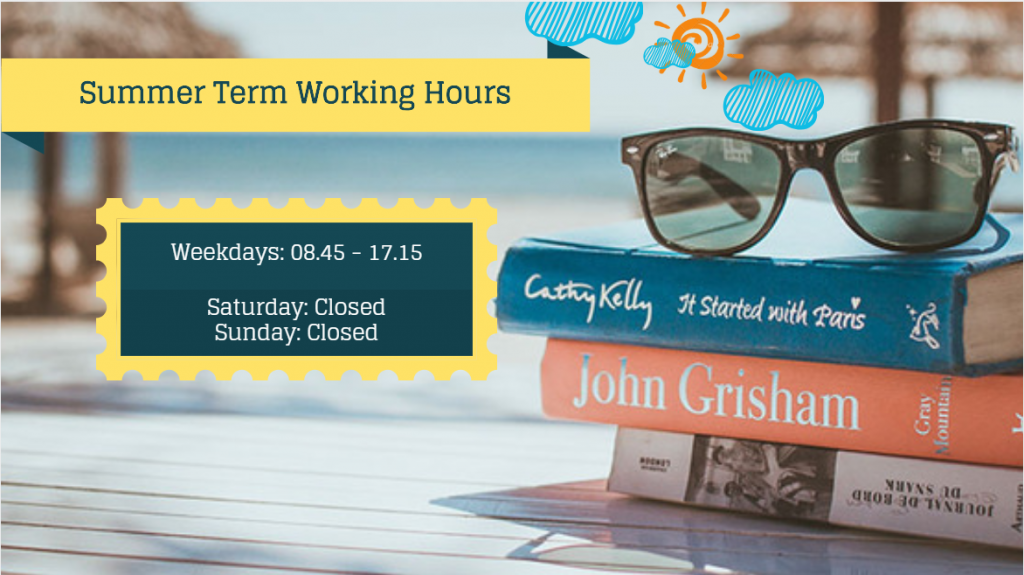 Summer Term Working Hours